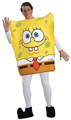 Nickelodeon SpongeBob Square Pants Tunic Costume, Yellow, Standard