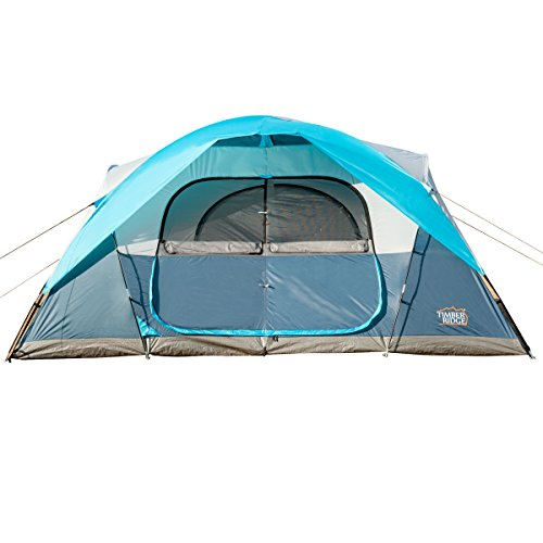 Timber-Ridge-Large-Family-Tent-for-Camping-with-Carry-Bag-2-Rooms