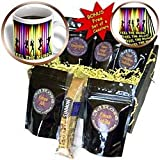 Spiritualawakenings_Music - Dance party theme with rainbow light abstract art - Coffee Gift Baskets - Coffee Gift Basket