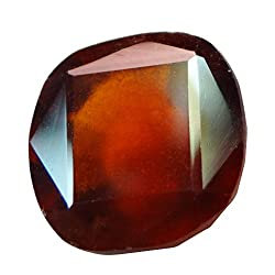 6.07 ct. / 6.74 Ratti Natural & Certified Hessonite Garnet (Gomed) BIRTHSTONE BY ARIHANT GEMS & JEWELS