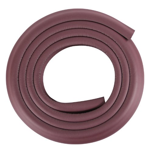 2m Baby Child Kids Safety Edge Guard Strip for Table Desk Bumper Collision Protector Corner Guards (4M, Coffee)