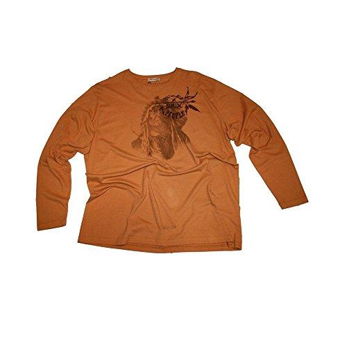 T-shirt Maxfort 18400 taglie forti uomo - Arancione, 5XL