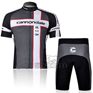 2012 Style CANNONDALE cycling jersey Set short-sleeved jersey tenacious life/Perspiration breathable(grey)Size available:S/M/L/XL/XXL/XXXL