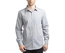 Scotchtree Men's Shirt (sco_017_Grey_Medium)