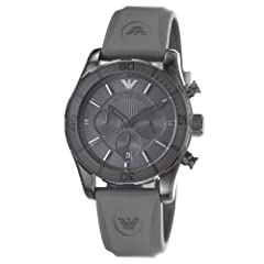 Armani Sportivo Chrono Charcoal Dial Men's watch #AR5949