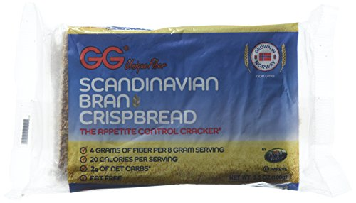 GG Bran Crispbread, 3.5 ounce Boxes (Pack of 10) (Gg compare prices)