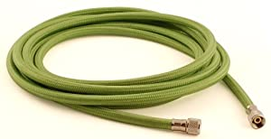 Grex GBH-06 6-Feet Braided Nylon Air Hose with 1/8-Inch Female Both Ends