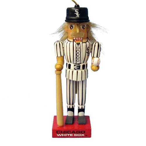 Kurt Adler 5-Inch Chicago White Sox Baseball Nutcracker Ornament at Amazon.com
