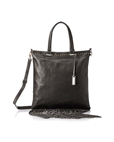 Urban Originals Women's Runway Lover Fringe Bag, Black/Black