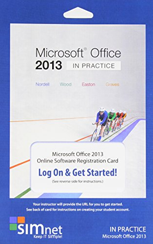Simnet For Office 2013, Nordell Simbook, Office Suite Registration Code