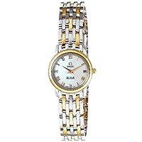[オメガ]OMEGA 腕時計 デ・ビル ホワイトパール文字盤 K18YG/ステンレスケース K18YG/ステンレスベルト 100M防水 4370.71 レディース 【並行輸入品】
