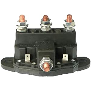 12 volt reversing continuous duty solenoid relay winch motor windlass automotive