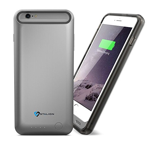 iPhone 6 Plus Battery Case: Stalion® Stamina Rechargeable Extended Charging Case 4000mAh