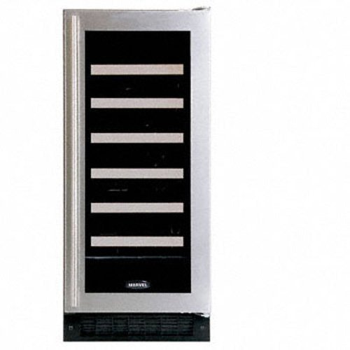 Luxury 30-Bottle Full Overlay Wine Refrigerator Hinge: Left