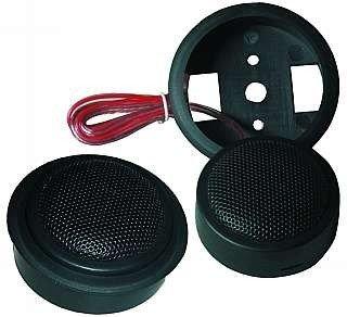 Auto Car-Hifi Lautsprecher Hochtöner Paar 150 Watt mit Hochpass McFun DT-19 von ETT bei Reifen Onlineshop