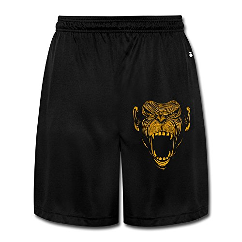 KEIOPO Men's Chimp Zombie Shorts