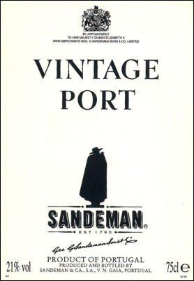 1985 Sandeman Vintage Port 750Ml