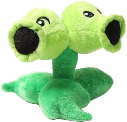 """Ads Plants Vs Zombies 2 Series Plush Toy Split Pea 14Cm 6"""" front-375274"""