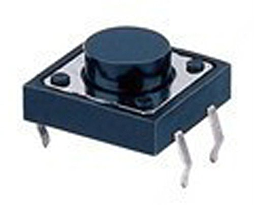 New Arrival!!! Limited Sale!!!50 Pcs Tactile Push Button Switch 12 X 12 X 4.3Mm, Business