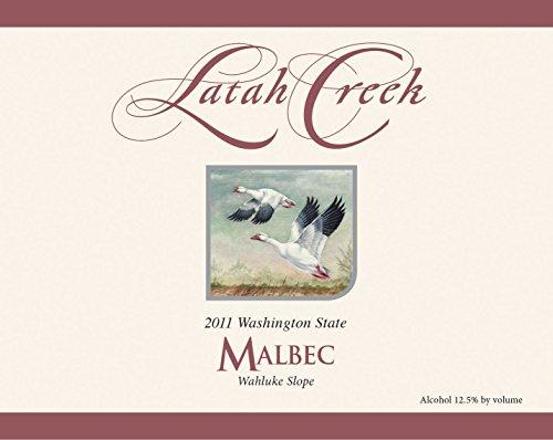 2011 Latah Creek Winery Wahluke Slope Malbec 750 Ml