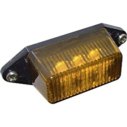 LED Clearance Light [Set of 2] Color: Amber