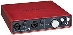 Focusrite Scarlett 6i6 USB Audio Interface BONUS PAK w/ Headphones & Cables