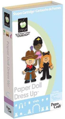 Cricut Shapes Cartridge Paper Doll Dress Up(R) By The Each