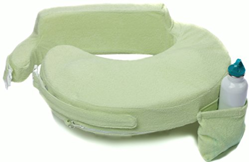 My Brest Friend Deluxe Nursing Pillow, Light Green