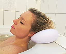 Curv Bath Pillow - Ultimate Comfort and Spa Relaxation, With Heavy Duty Suction Cups. Luxury Pillow Fits Any Size Bathtub, Jacuzzi. Perfect Gift for Home.