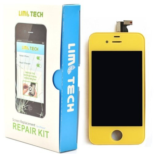 Limtech Iphone 4 Cdma (At&T) Premium Screen Replacement & Repair Deluxe Kit ,With Guide Book And Tools .Touchscreen Digitizer And Lcd Assembly