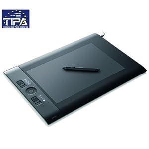 WACOM Grafiktablett Intuos 4 L + USB 2.0-7 Ports-Hub