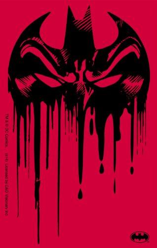 Licenses Products DC Comics Batman Drippy Logo Sticker - 1
