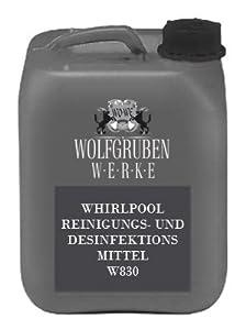 4,98EUR/L WHIRLPOOLREINIGER | DESINFEKTION WHIRLPOOL ANLAGEN | POOLREINIGER 5L