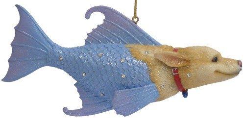 December Diamonds Rover the Sea Dog Ornament- Rhinestones Sparkle- Discontinued!