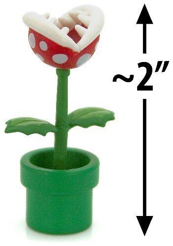 "Piranha Plant ~2"" Mini Figure [Super Mario Choco Egg Mini-Figure Series #3 - NO CANDY] (Japanese Import)"