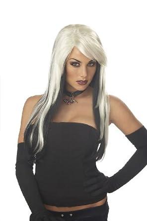 California Costumes Women's Vampire Vixen Wig,Blonde/Black,One Size