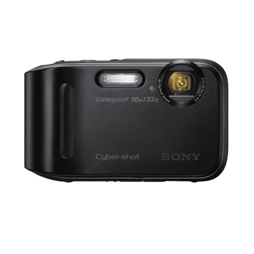 Sony DSC-TF1/B 16 MP Waterproof Digital Camera with 2.7-Inch LCD (Black) (OLD MODEL) (Sony Waterproof Digital Camera compare prices)
