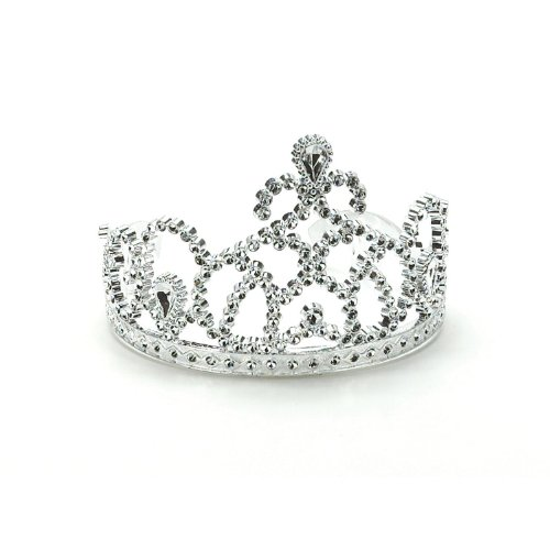 Silver Princess Tiara Party Supplies 3