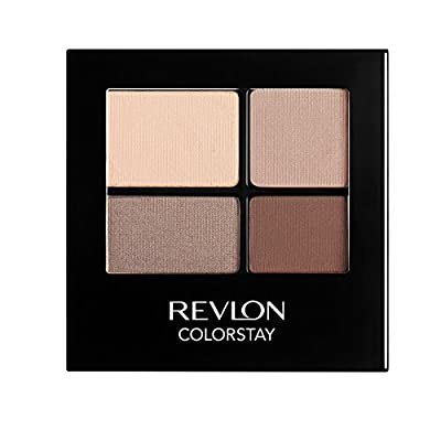 REVLON Colorstay 16 Hour Eye Shadow Quad, Addictive, 0.16 Ounce