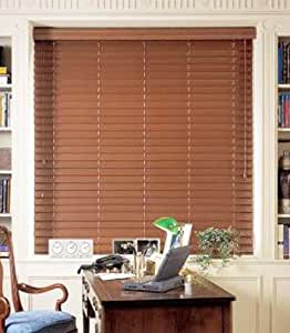 Graber 2 faux wood blinds horizontal wood for 12 inch wide window blinds