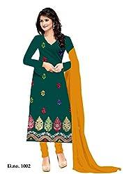 Shree Vardhman Rama Crap Unstitched Dress Material
