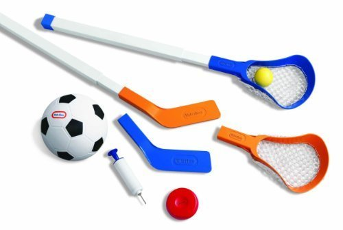 Little Tikes Easy Score Soccer, Hockey, Lacrosse Set with Net by Little Tikes