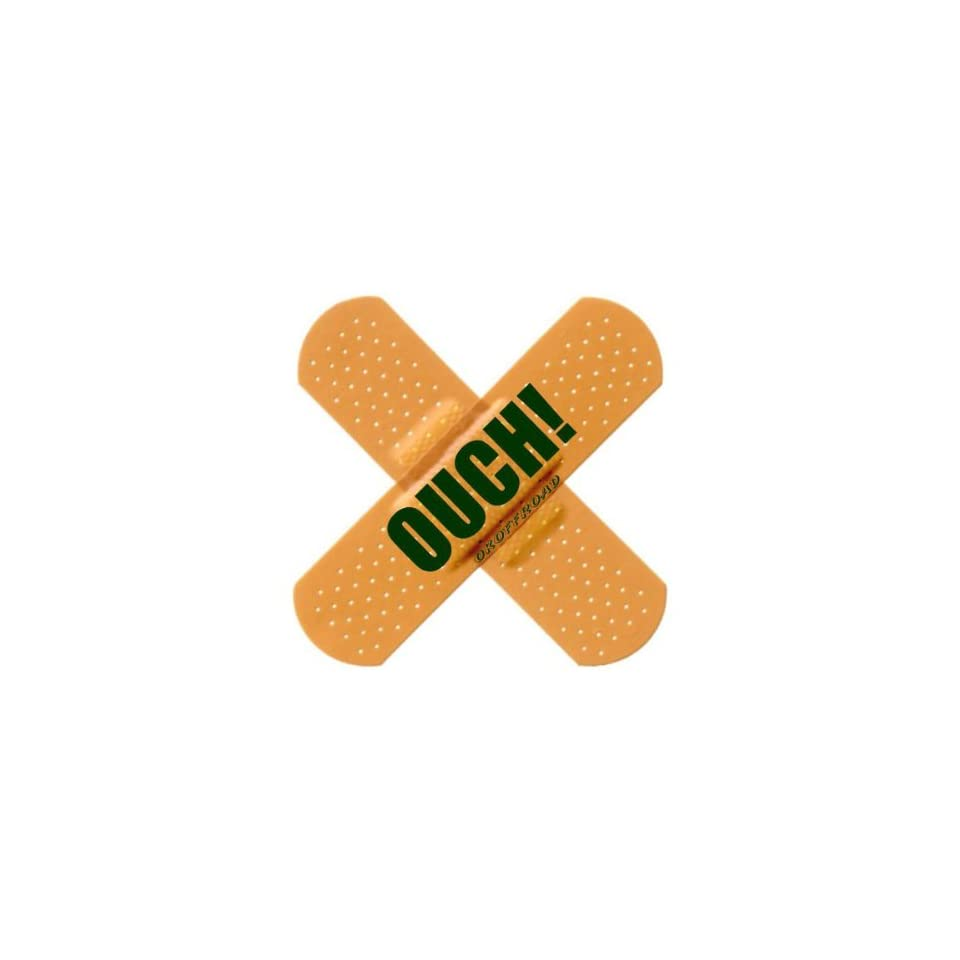 OK Offroad OK BAD002 Ouch Band Aid Flag Decal