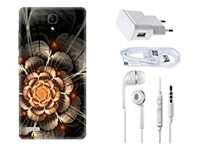 Spygen XIAOMI REDMI Note Prime Case Combo of Premium Quality Designer Printed 3D Lightweight Slim Matte Finish Hard Case Back Cover + Charger Adapter + High Speed Data Cable + Premium Quality Handfree