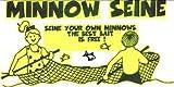DOGLAS Minnow Seine Net, 4 x 10 x 1/8-Inch