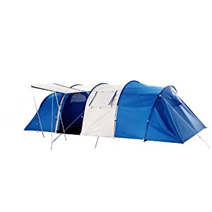 Peaktop 3 Rooms 9 Persons Large Dome Family Camping Tent