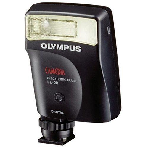 Olympus FL-20 Electronic Flash for SP series C5000 C750 C770 C5060 C7070 C8080 E1 E300  E500 DigitalB000099108 : image