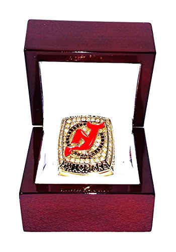 NEW JERSEY DEVILS (Martin Brodeur) 2003 STANLEY CUP CHAMPIONS High-Quality Replica Hockey Championship Ring (Size 11) (Devils Stanley Cup compare prices)