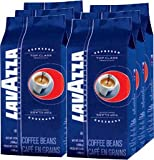 Lavazza Top Class Gran Gusto Coffee Espresso , Whole Beans, Pack of 6, 6 x 1000g