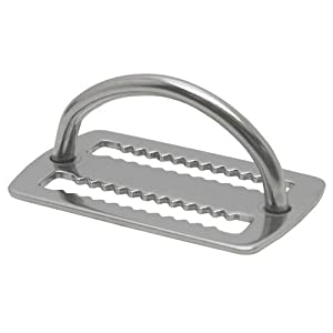 Stainless Steel Weight Keeper with D-Ring
